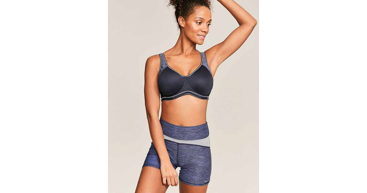 5b0da4bba5 Freya Sonic Underwire Breathable Sports Bra in Blue - Lyst