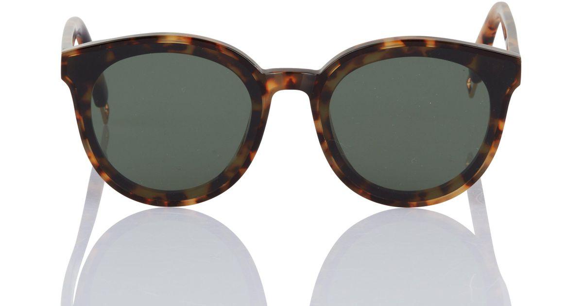 cdc238ec87c8 Lyst - Gentle Monster Black Peter Tortoise Sunglasses in Black