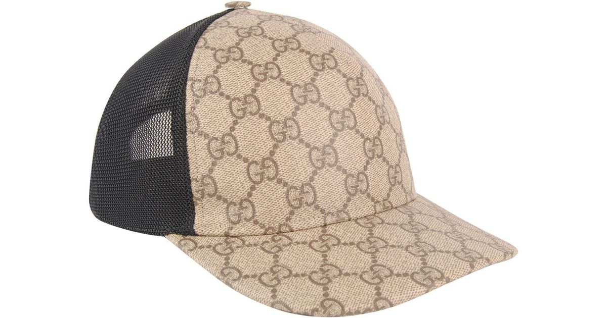 Lyst - Gucci Gg Supreme Cap in Natural for Men 92be1efb70a