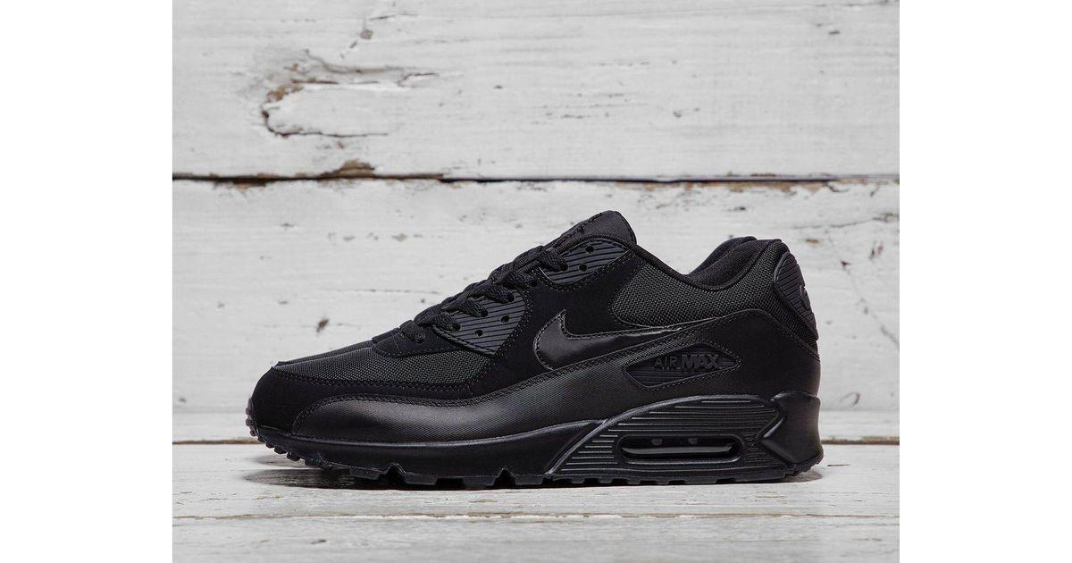 a5a91f8b7eab2e Lyst - Nike Air Max 90 in Black for Men
