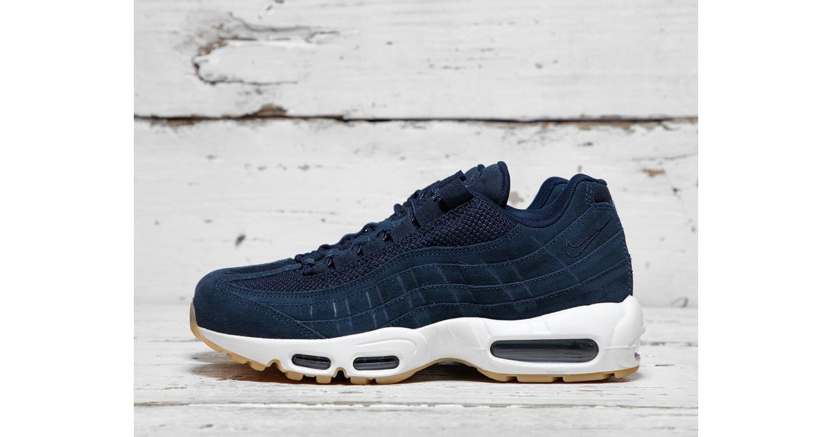 check out a217c fbc73 Lyst - Nike Air Max 95 Premium in Black for Men