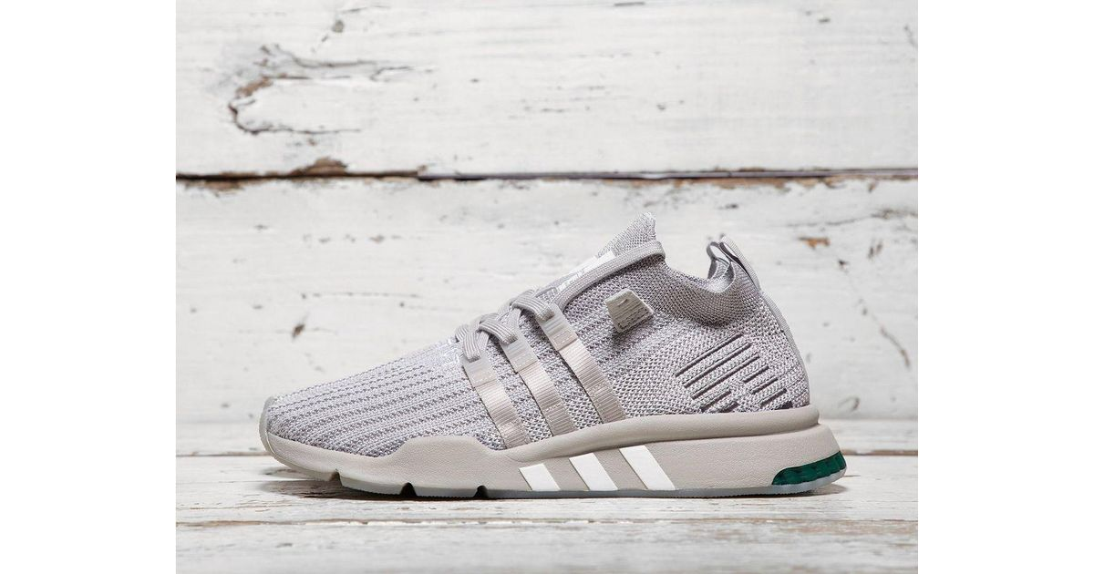 buy online e61a3 c1a72 Lyst - Adidas Originals Eqt Support Mid Adv in Gray for Men