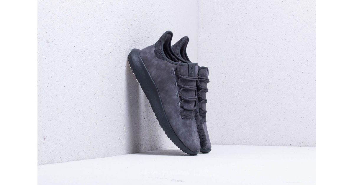 Lyst - adidas Originals Adidas Tubular Shadow Carbon  Carbon  Chalk White  in Gray for Men f5d4845aa