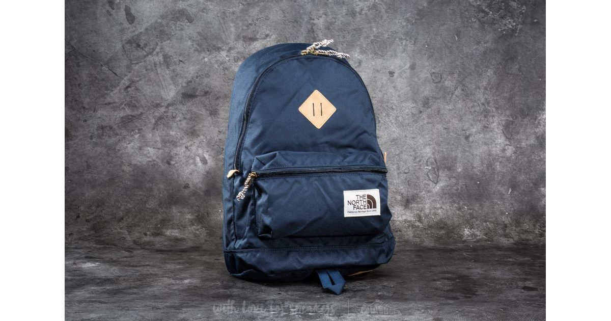 quality design 78053 88356 Footshop The North Face Berkeley Backpack Urban Navy in Blue - Lyst