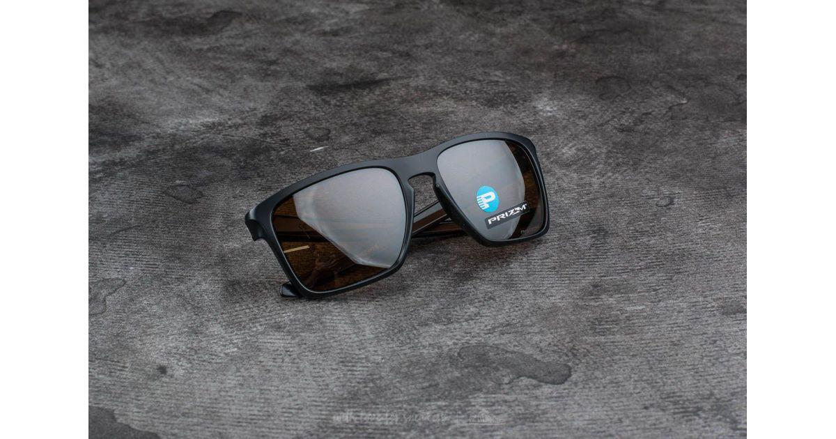 a4a83745bb9 Lyst - Footshop Oakley Sliver Xl Matte Black  Prizm Tungsten Polarized in  Black for Men