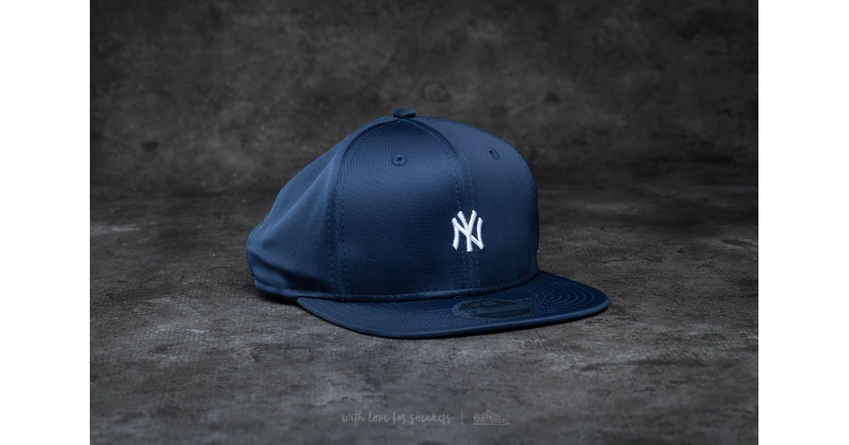 a7cb6f884a5 ... italy lyst ktz 9fifty mini logo new york yankees snapback navy white in  blue for men