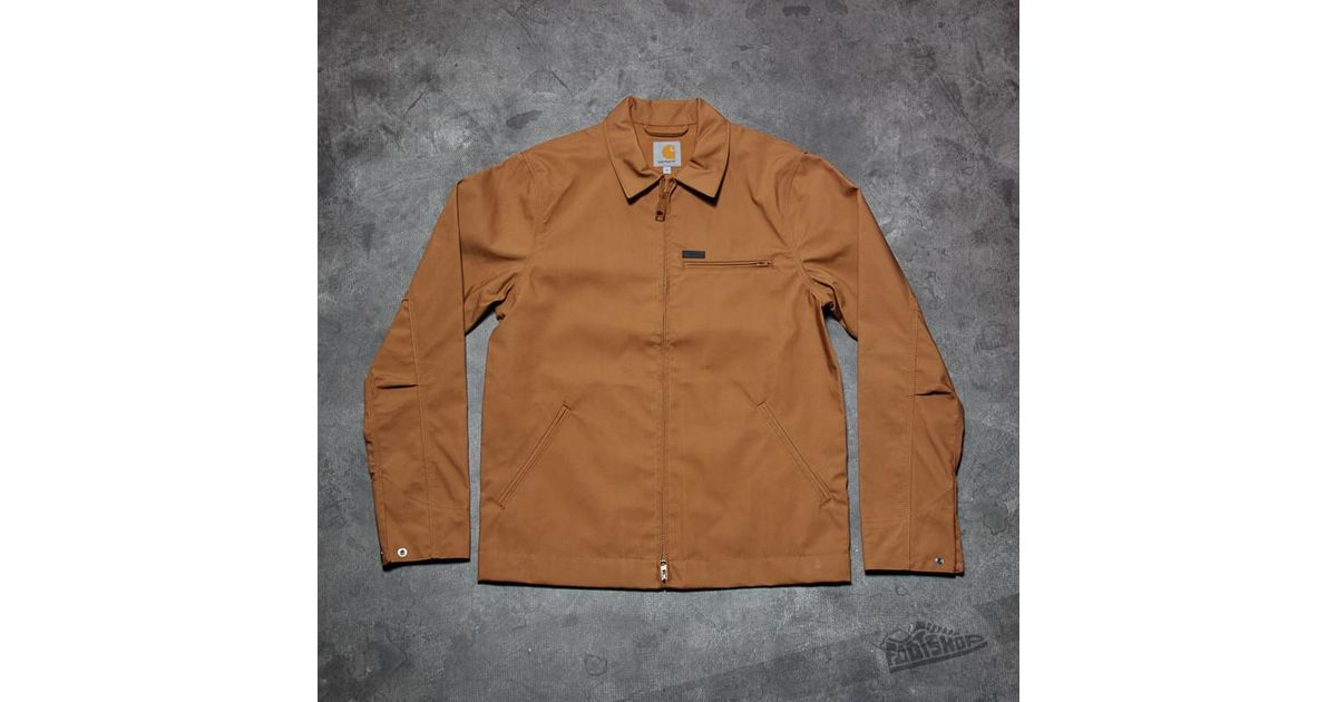 e25a5954450 Carhartt WIP Detroit Jacket Hamilton Brown in Brown for Men - Lyst