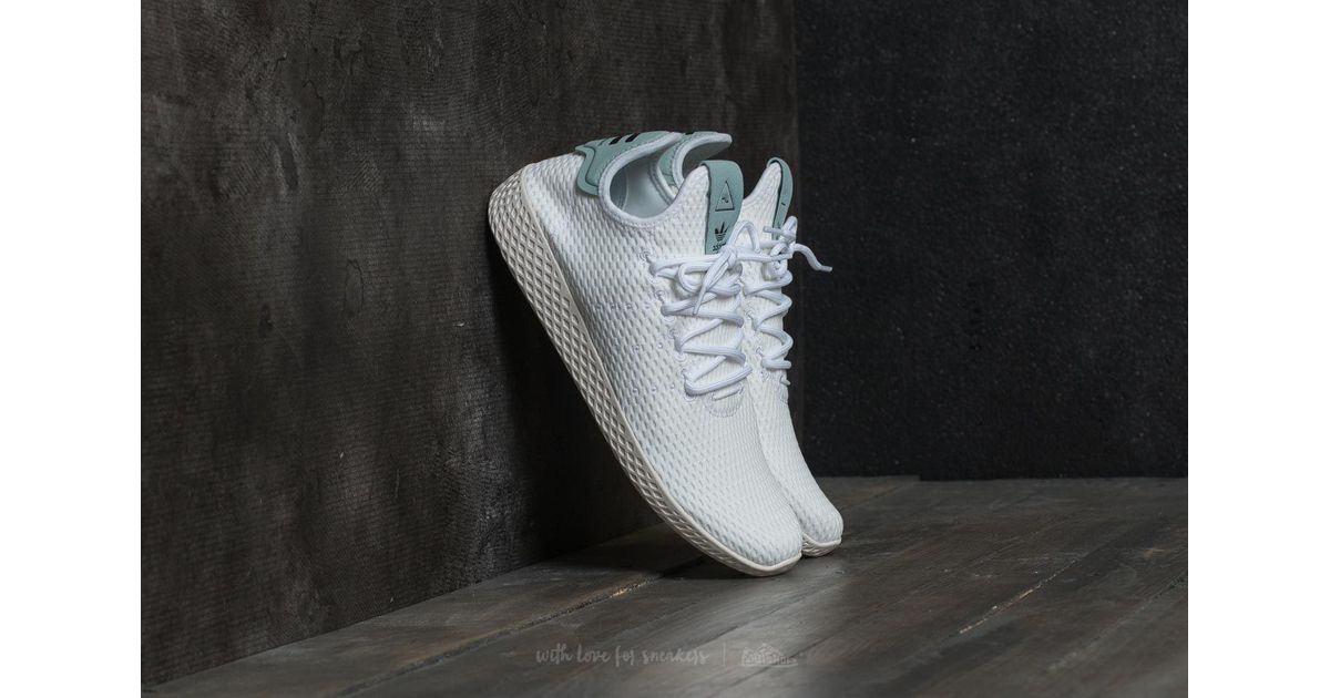 d18cb78dc8384 Lyst - adidas Originals Adidas Pharrell Williams Pw Tennis Hu Ftw White   Ftw White  Tactile Green in White