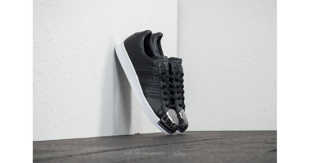 82ae9ed0c0f adidas Originals Adidas Superstar 80s Metal Toe W Core Black/ Core Black/  Ftw White in Black - Lyst