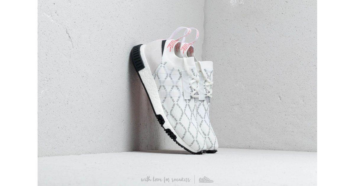 442d83bce8584 Lyst - adidas Originals Adidas Nmd racer Gtx Pk Ftw White  Ftw White   Shored in White for Men