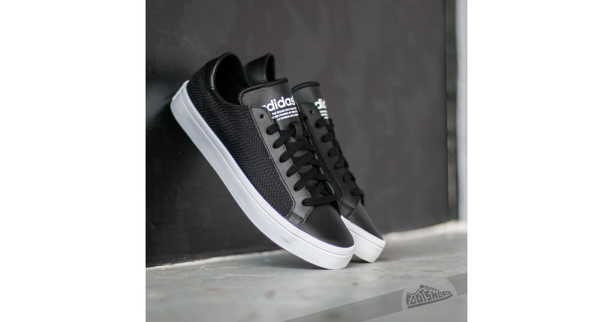new style dad1c 4a339 Lyst - adidas Originals Adidas Court Vantage W Core Black  Core Black Ftw  White in Black for Men