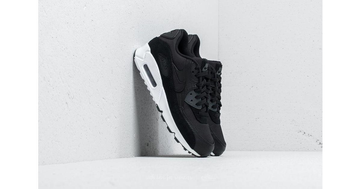 huge discount d1e88 1a754 Lyst - Nike Air Max 90 Premium Black  Black-white-anthracite in Black for  Men