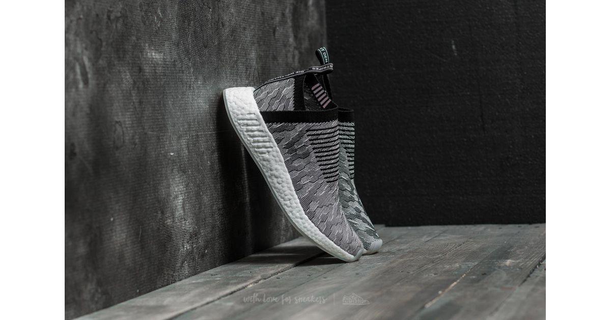 75c32605da5c9 Lyst - adidas Originals Adidas Nmd cs2 Primeknit W Grey  Core Black  Core  Black  Wonder Pink in Black