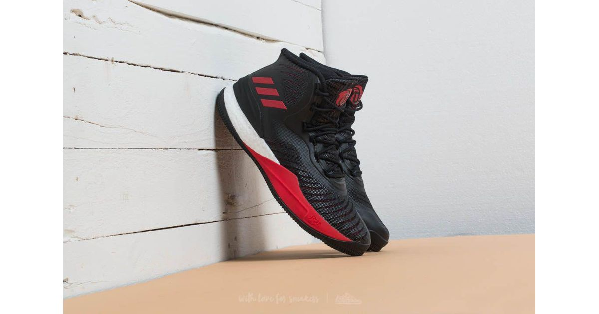 a9b4e9477eb6 Lyst - adidas Originals Adidas D Rose 8 Core Black  Red  Core Black in Black  for Men