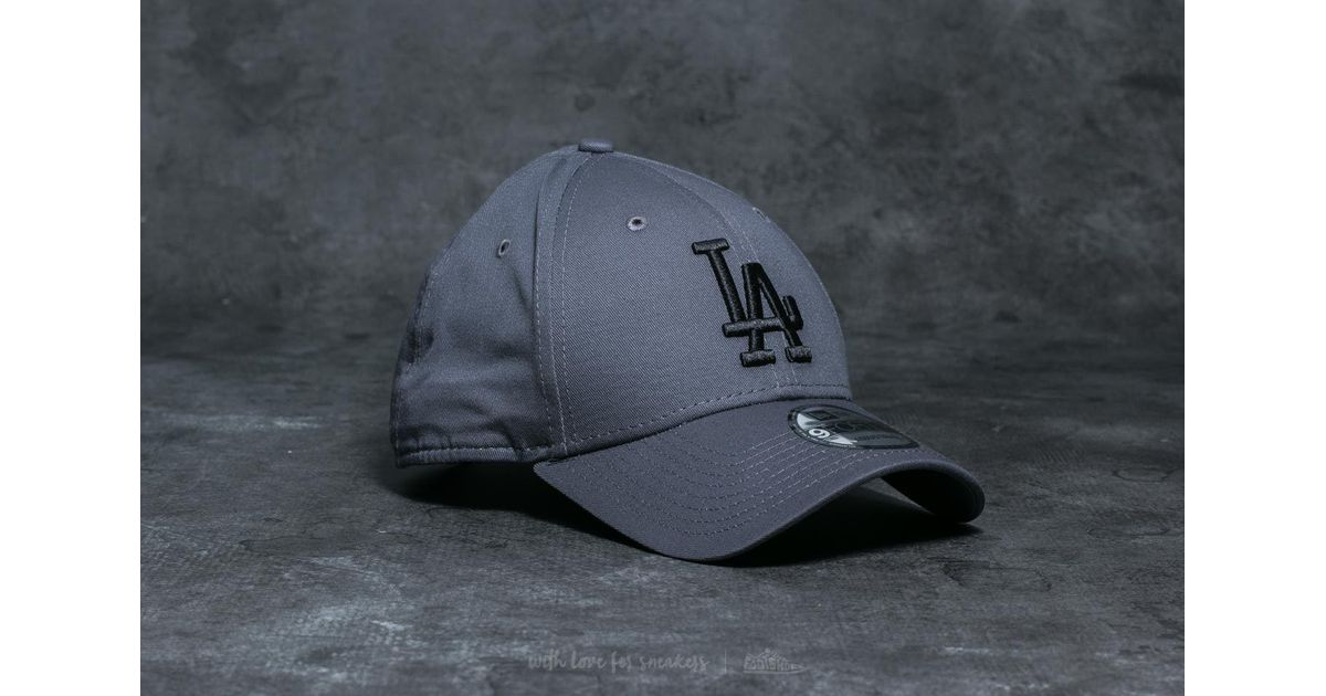 f53c2d042dc ... lyst ktz youth 9forty mlb league los angeles dodgers cap grey black in  gray for men ...