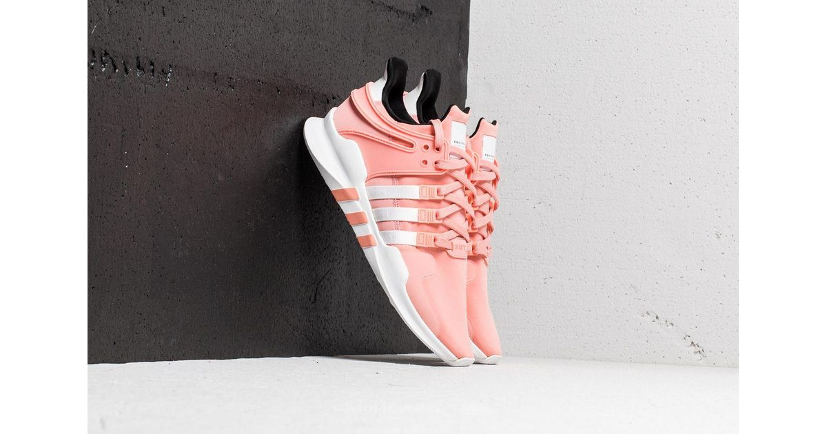 pretty nice d8db4 c5d57 Lyst - adidas Originals Adidas Eqt Support Adv Trace Pink Ftw White Core  Black for Men