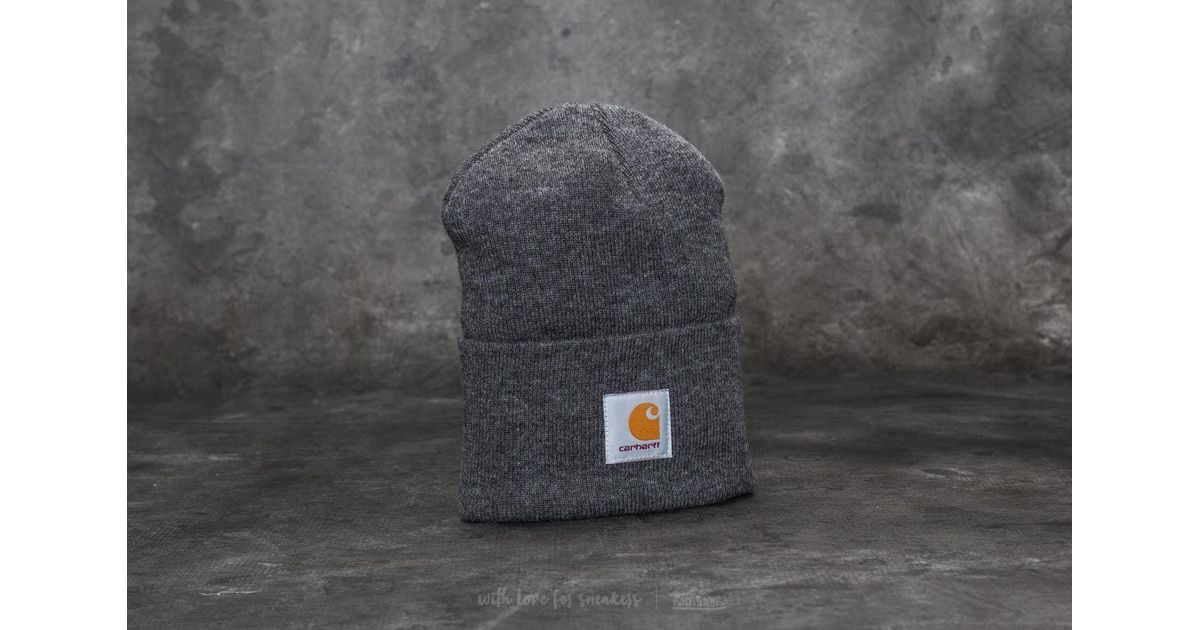 732afabe9fa45 Carhartt WIP Acrylic Watch Hat Dark Grey Heather in Gray for Men - Lyst