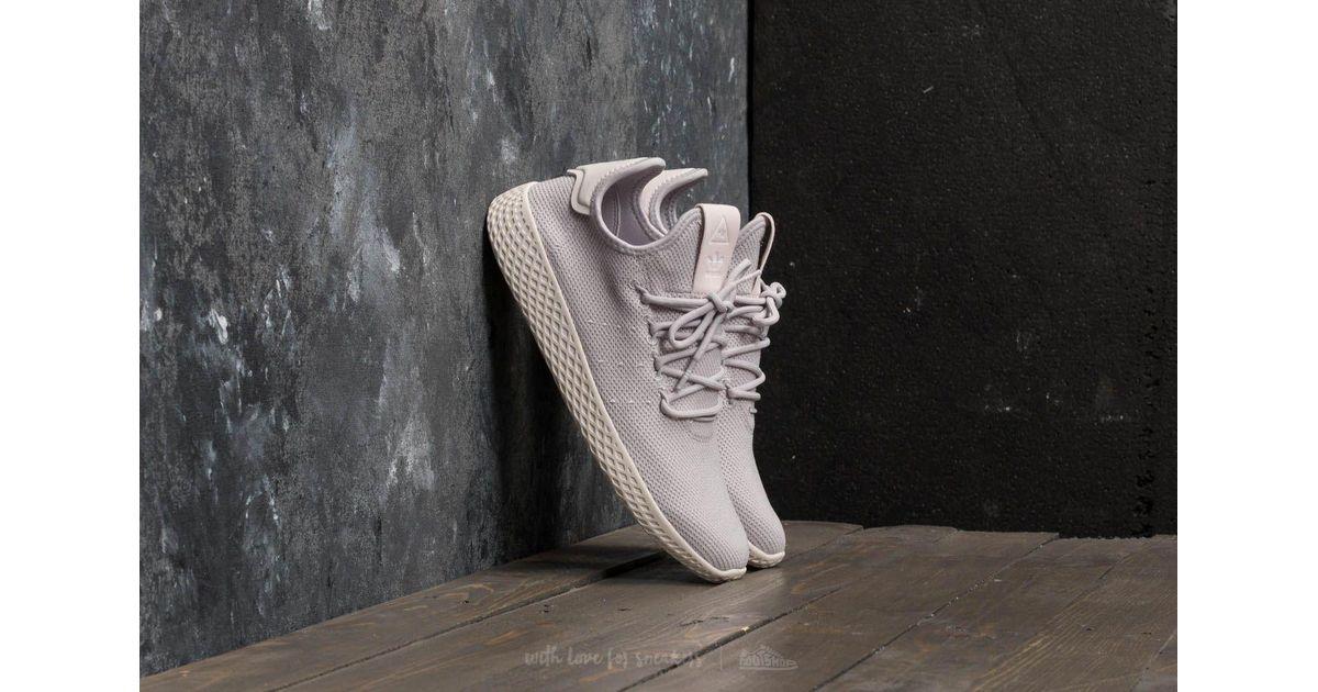 14c357edf Lyst - adidas Originals Adidas Pharrell Williams Tennis Hu W Lgh Solid  Grey  Lgh Solid Grey  Chalk White in Gray