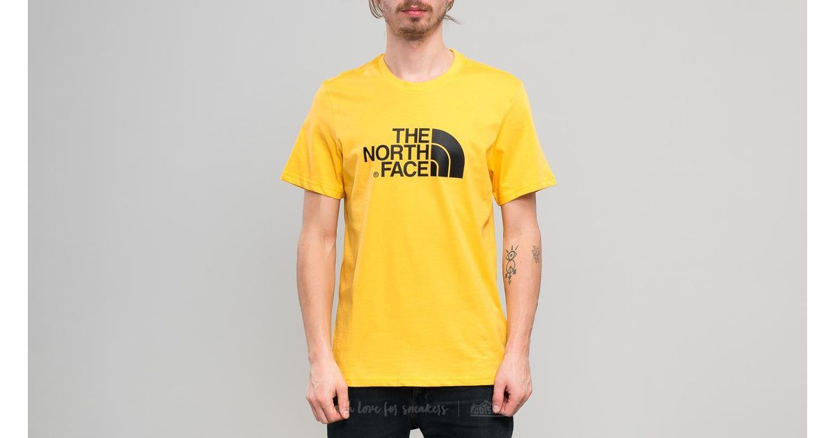 9eb9ba7e3 Footshop - The North Face Shortsleeve Easy Tee Tnf Yellow for Men - Lyst