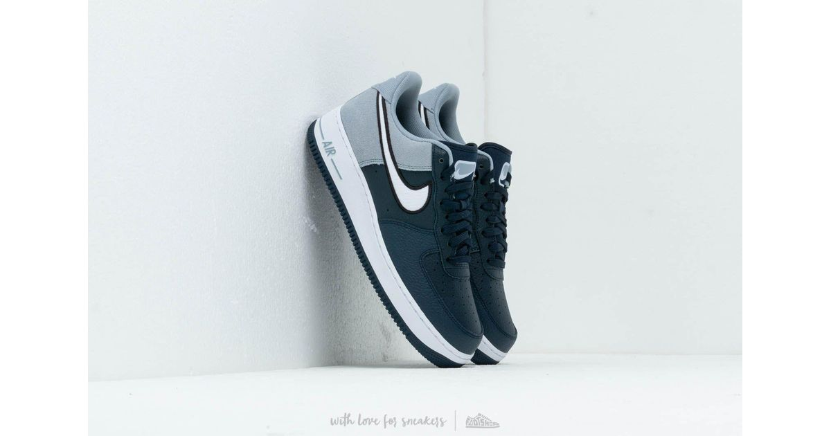 c2eaba9b99 Lyst - Nike Air Force 1 '07 Lv8 1 Obsidian/ White-obsidian Mist-black in  White for Men