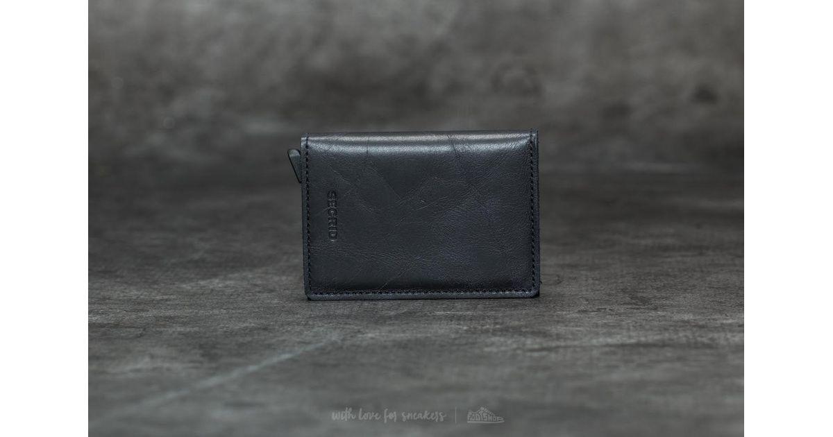 8beb4936d21 Footshop Secrid Twinwallet Vintage Black in Black - Lyst