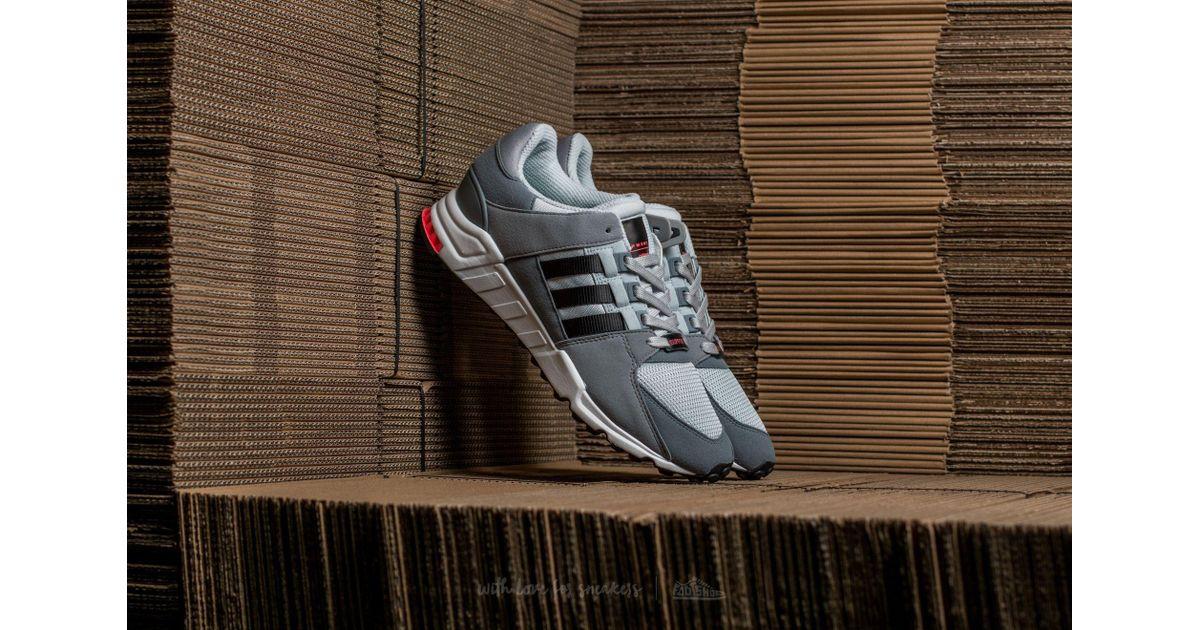 sports shoes f7725 cc939 Lyst - adidas Originals Adidas Eqt Support Rf Light Onix Core Black Grey  in Gray for Men