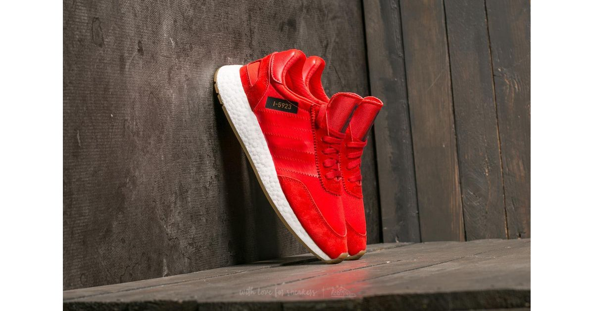 169b4ca6476 Lyst - adidas Originals Adidas I-5923 Core Red  Ftw White  Gum 3 in Red for  Men
