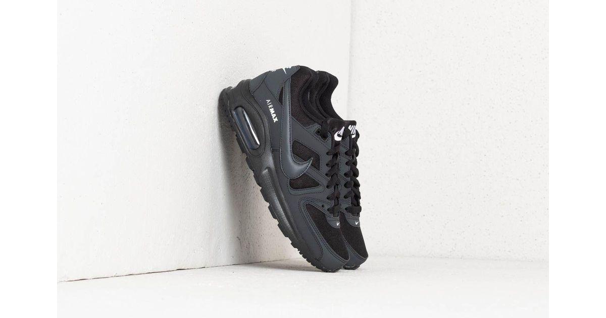 8d6e4fccbb25f Lyst - Nike Air Max Command Flex (gs) Black  Anthracite-white in Black