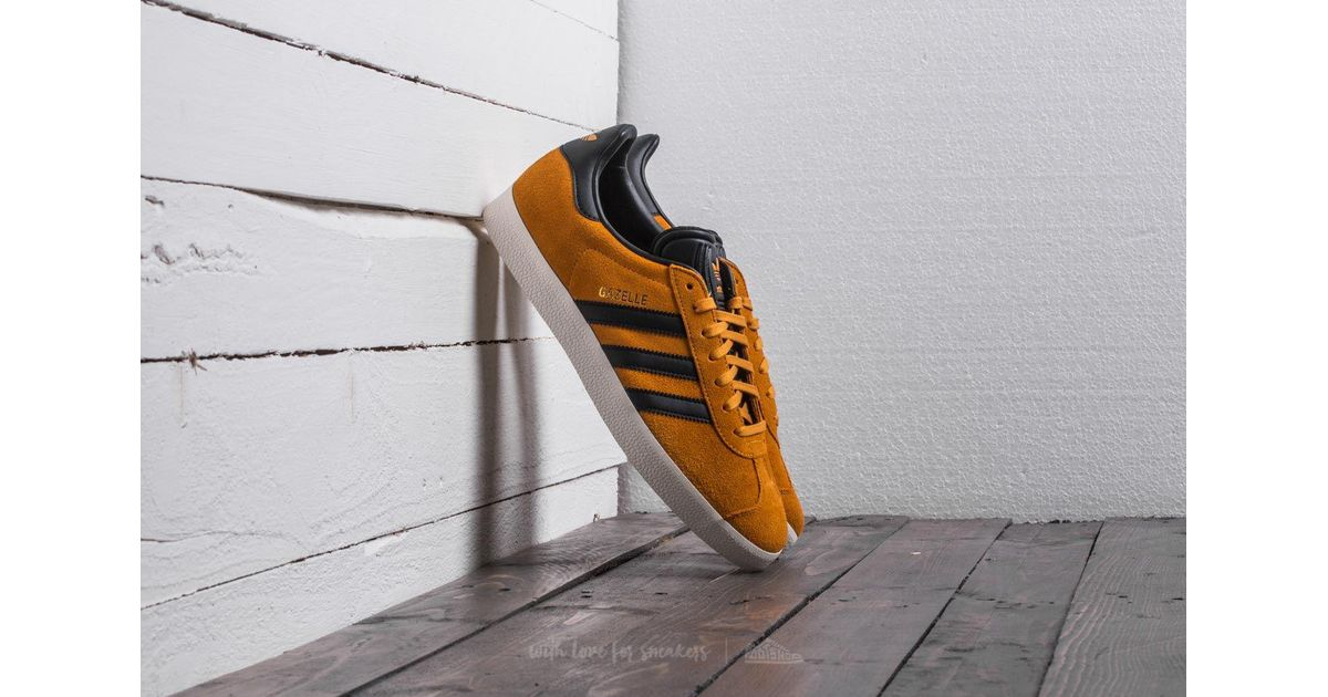 adidas gazelle tactile yellow