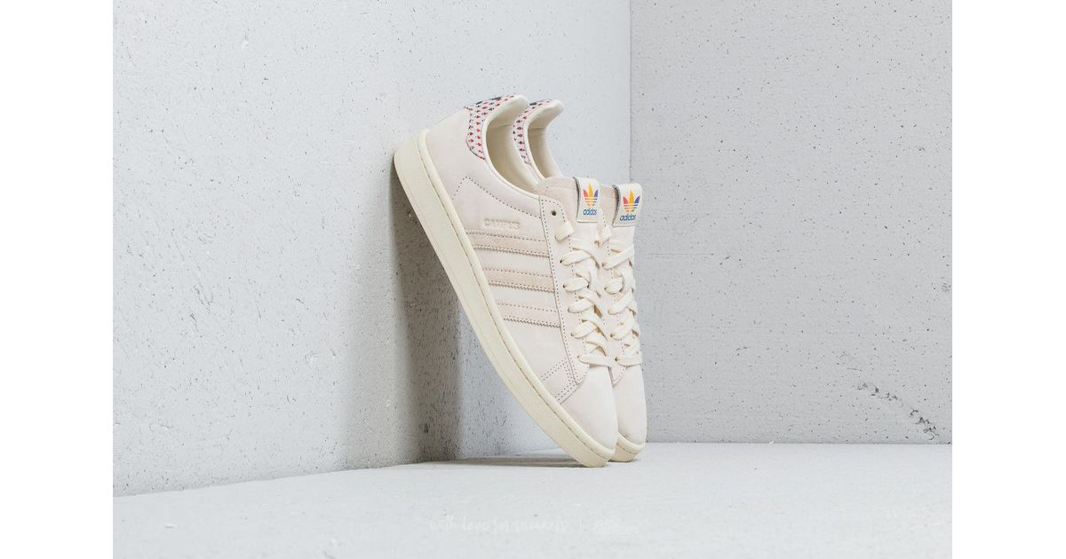 1b3df01b9fe Lyst - adidas Originals Adidas Campus Pride Cream White  Trace Pink  Trace  Scarlet in White for Men