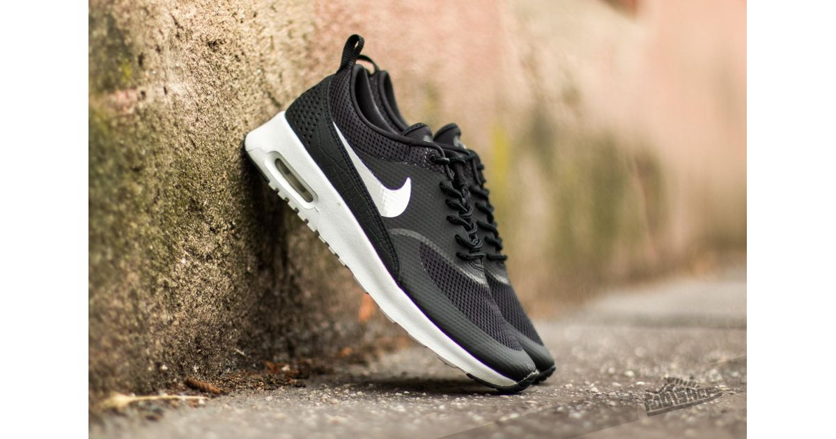 4f9289a4a45 Nike - Wmns Air Max Thea Black/ Summit White for Men - Lyst