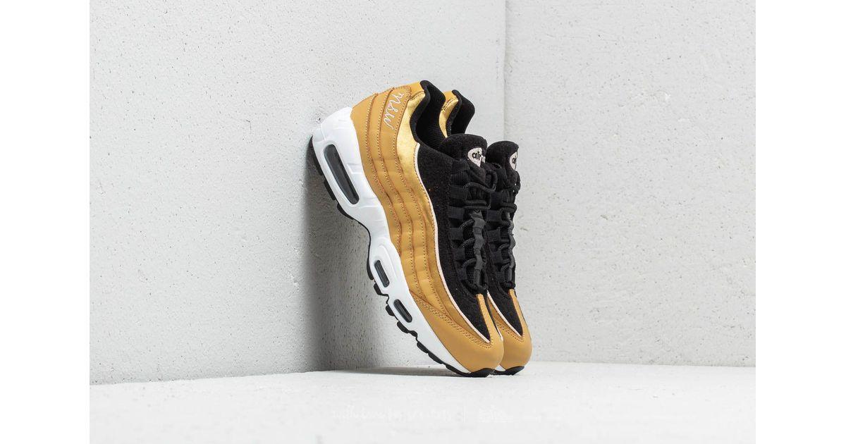 Nike Metallic Wmns Air Max 95 Lx Wheat Gold Wheat Gold black