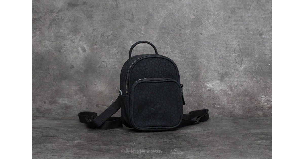 c12ce686eb adidas Originals Adidas Ac Classic Mini Backpack Black in Black - Lyst