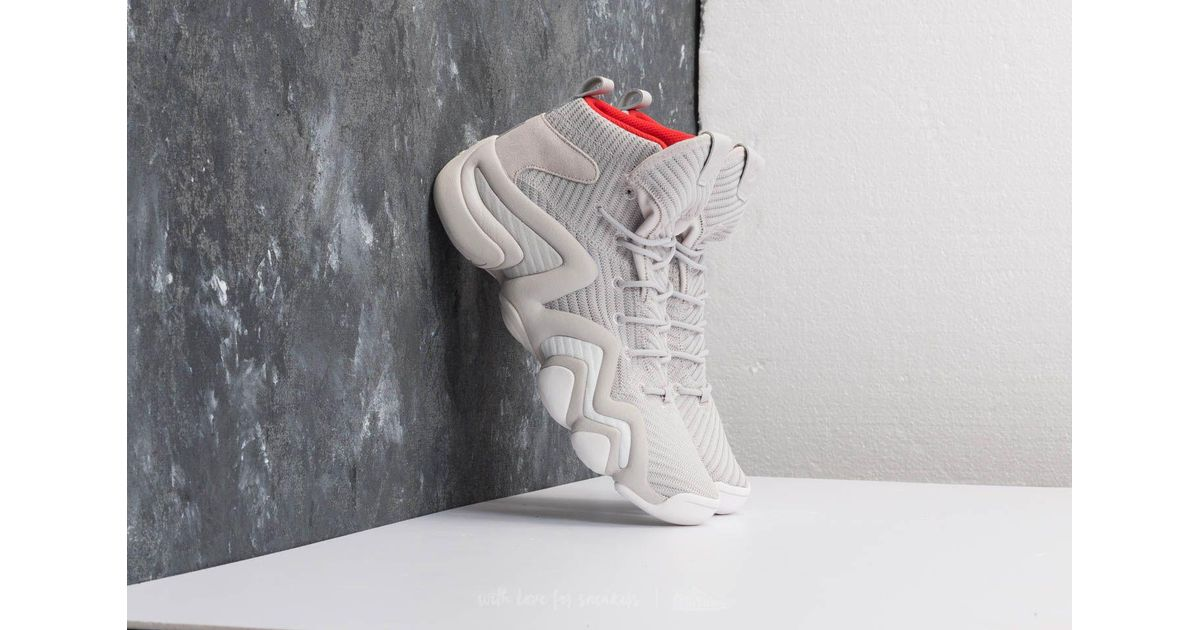 size 40 59b3b 7028e Lyst - adidas Originals Adidas Crazy 8 Adv Ck Grey Two Ftw White Hi-res  Red in Gray for Men