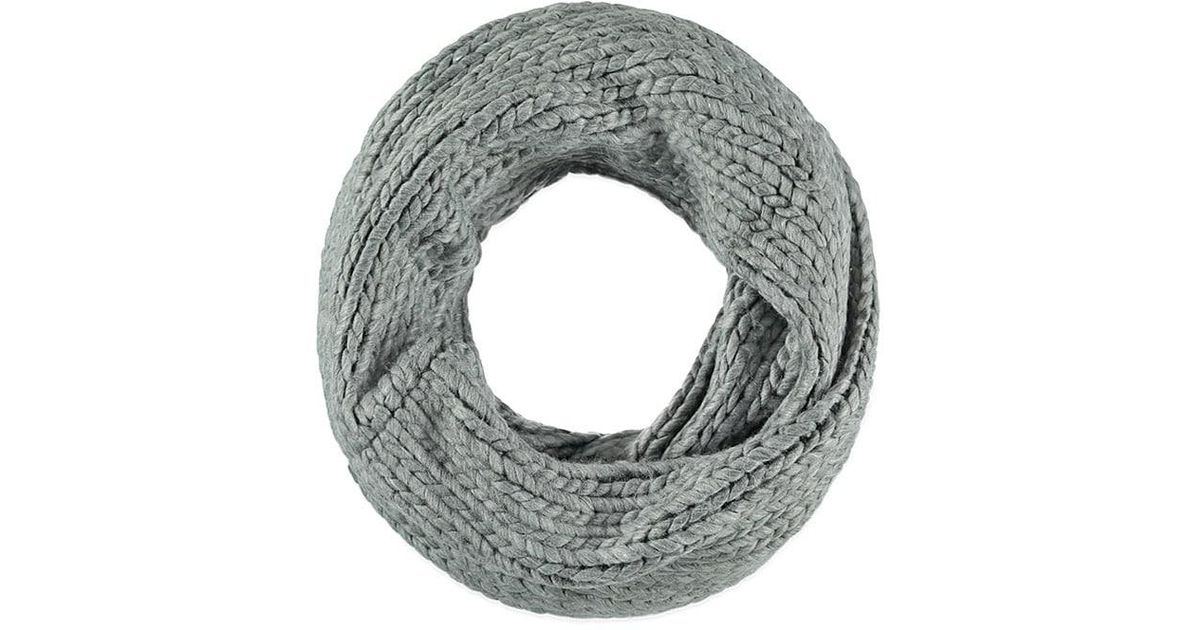 Lyst - Forever 21 Chunky Knit Infinity Scarf in Gray