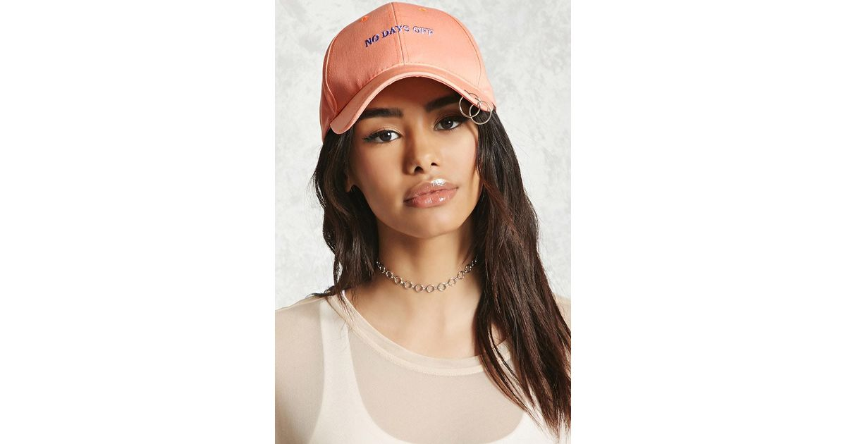 0edcb4ce636 Lyst - Forever 21 No Days Off O-ring Cap