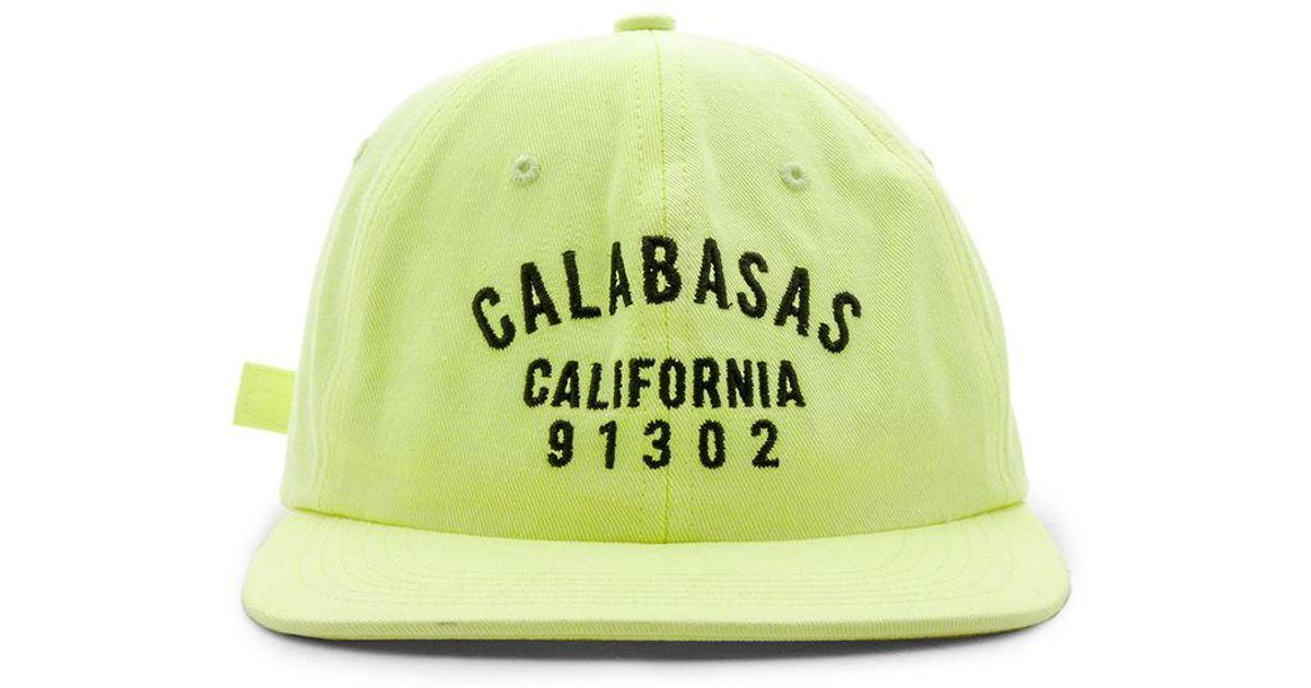 36684c3996c Lyst - Yeezy Calabasas Hat