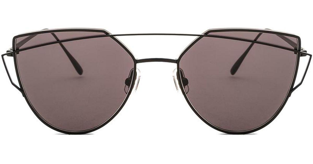 373b4c01ecde Lyst - Gentle Monster Love Punch Sunglasses in Black