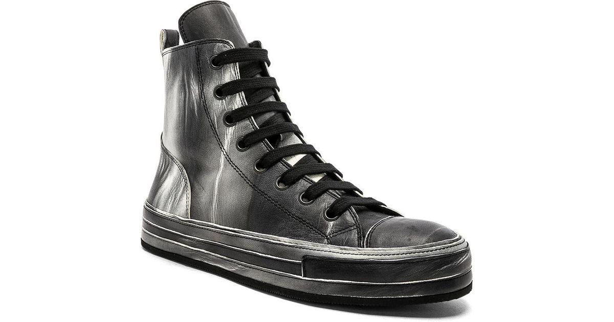 light and shadow effect sneakers - Black Ann Demeulemeester wklH4k