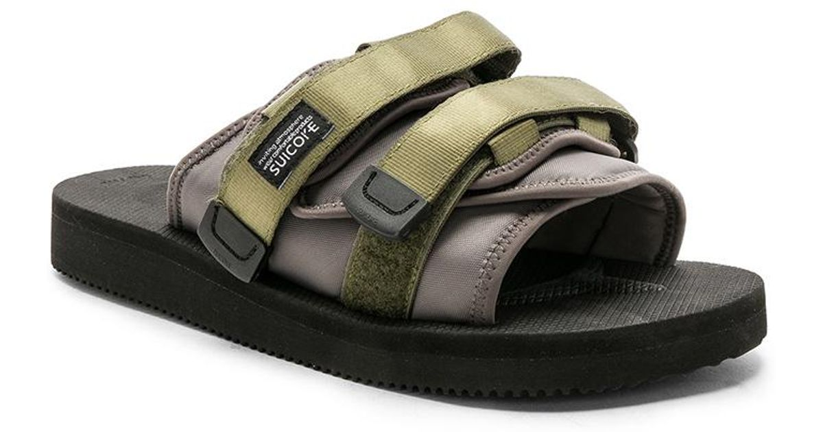 a43e972f08d Lyst - John Elliott X Suicoke Sandals in Black
