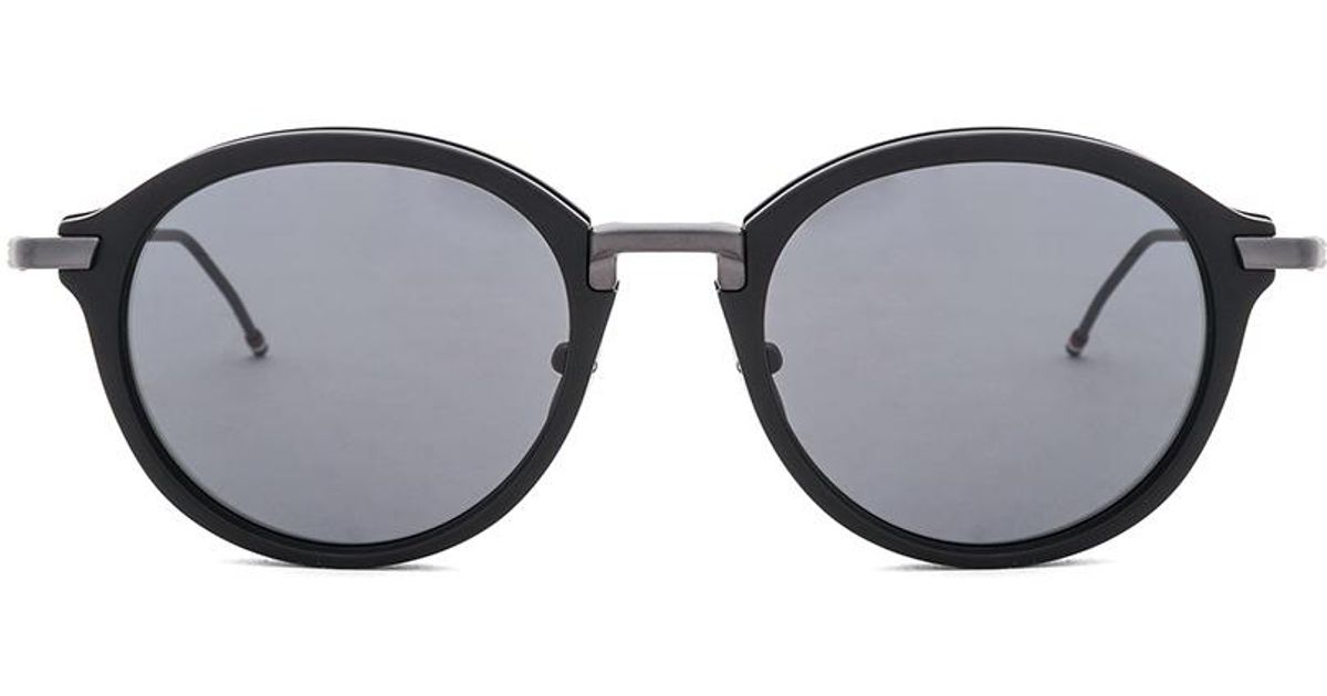 2f52b8a20653 Lyst - Thom Browne Tb-011 in Black