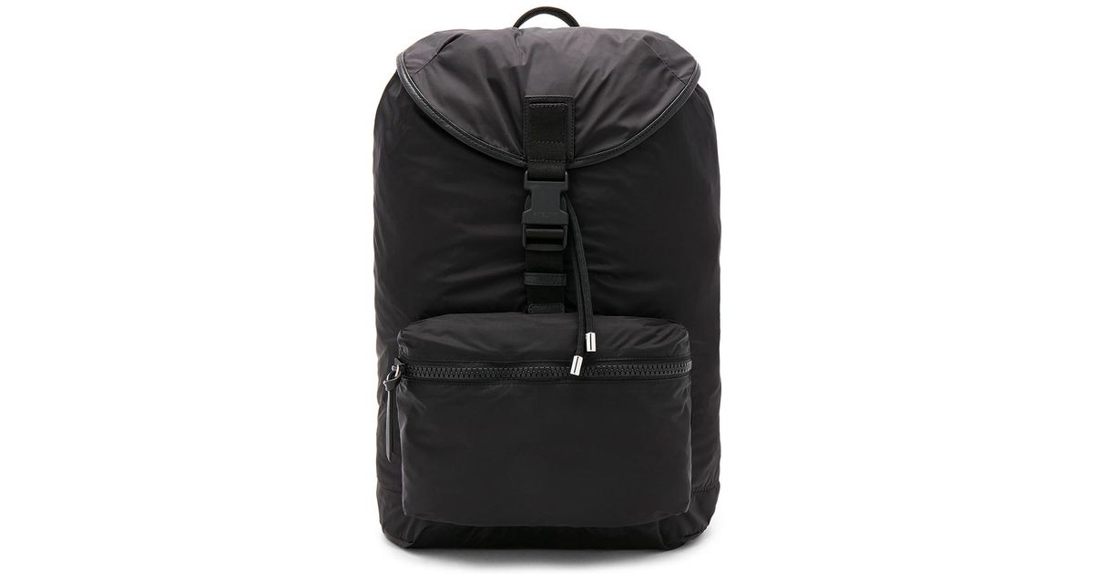 87fae31c04 Lyst - Givenchy Fold Into Bag Backpack in Black