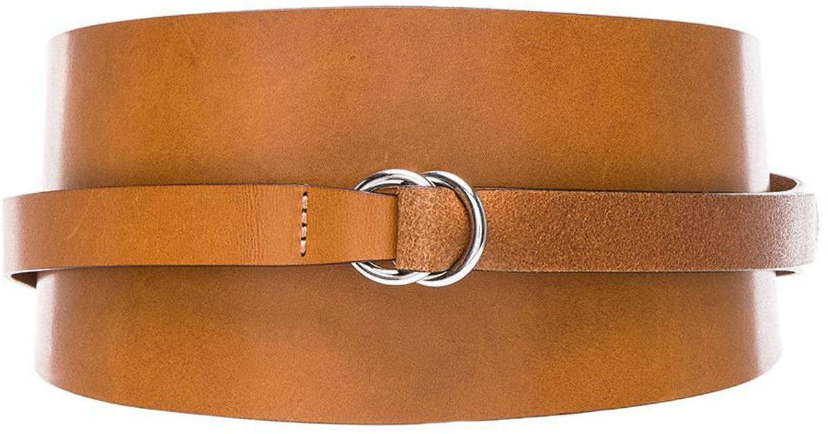 7d6c7b39a706 Lyst - Isabel Marant Cajou Waist Belt in Brown