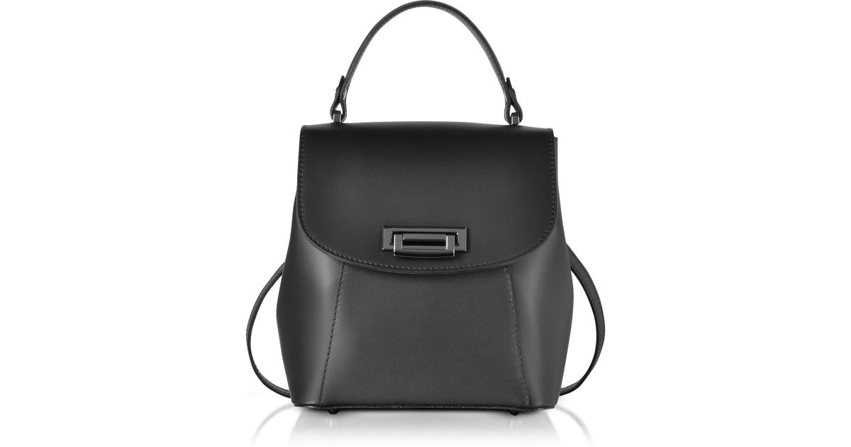 b2a3f43c4fc2b Le Parmentier Venus Leather Convertible Satchel backpack in Black - Lyst