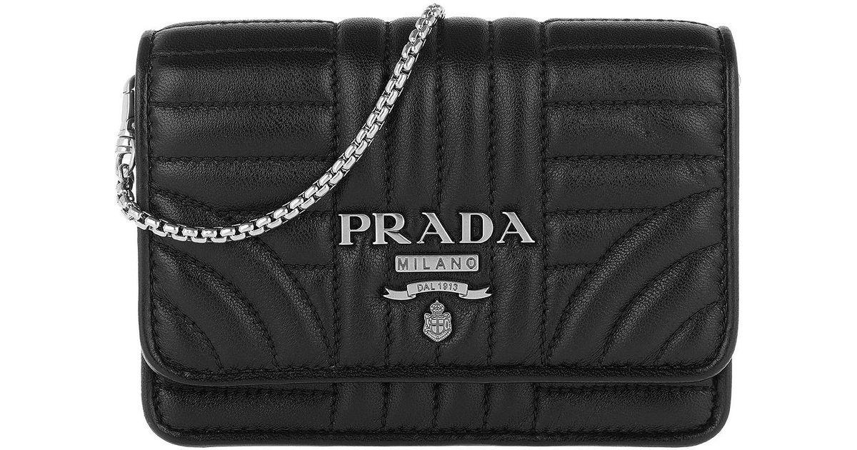 3f2673907000 Prada New Mini Bag Black in Black - Lyst