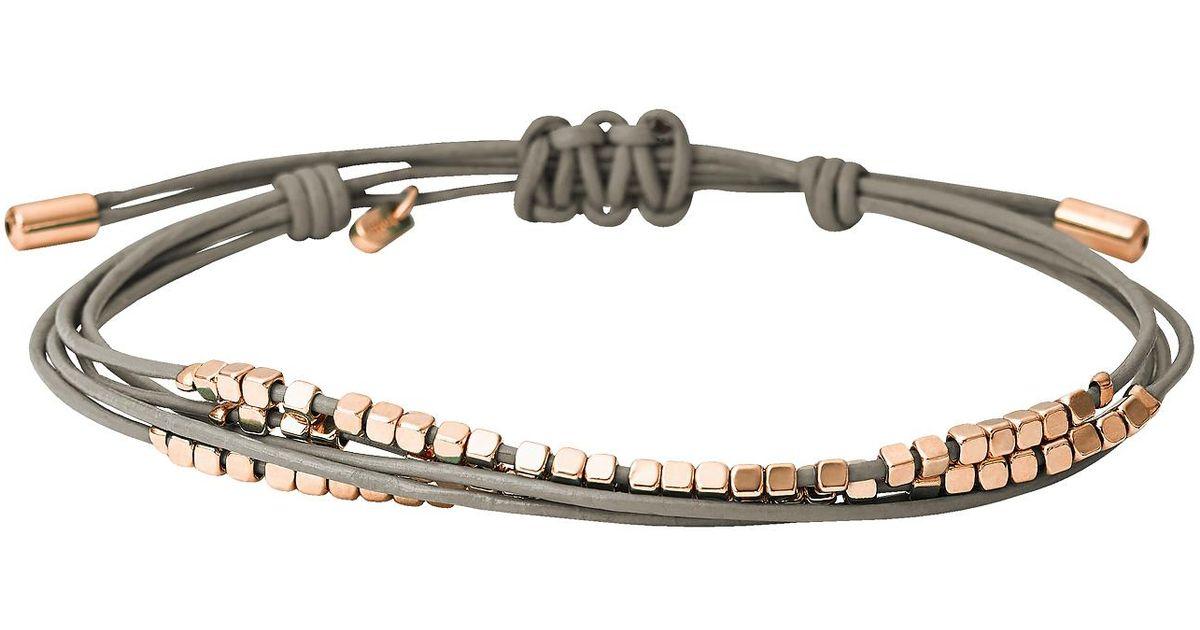 Fossil Women's Grey Bracelet JA6534791 l2GP1FH