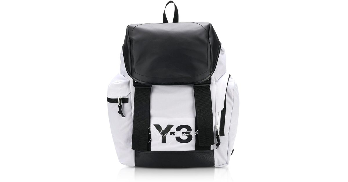 f75fef4b11a9 Y-3 Mobility Color-block Backpack in Black for Men - Lyst