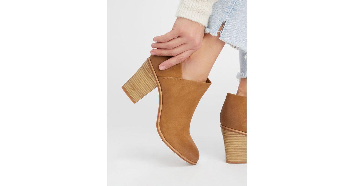 38bff7192225 Lyst - Free People Vegan Heel Boot