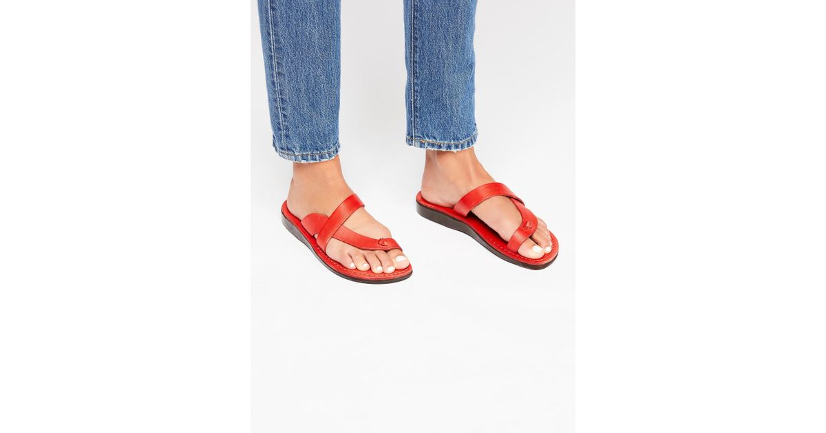 69336080da0 Lyst - Free People Sherbet Sandal in Red