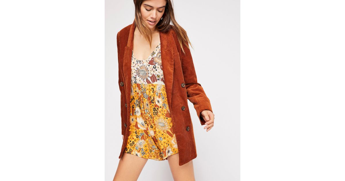 2bab0dc02bd Free People Desert Daisy Playsuit By Spell And The Gypsy Collective - Lyst